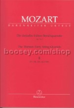 String Quartets Book 2 Nos 5-7