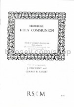 COMMUNION 1662 + RITE B VARIANT