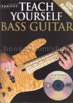Step One Teach Yourself Bass Guitar (Book & DVD)