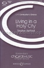 Living in a Holy City SSATB