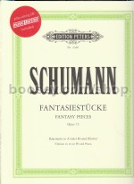 Fantasy Pieces Op. 73 Cl/Piano (Book & CD)