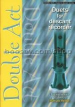 Double Act: Duets for Descant Recorder