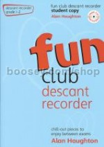 FUN CLUB DESCANT RECORDER Grade 1-2 Student (Book & CD)