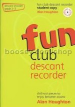 Fun Club Descant Recorder, Grade 2–3 (Book & CD)