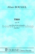 Trio Op. 40 For Flute, Viola And Cello