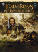 Lord Of The Rings Trilogy Solos Cello (Book & CD)