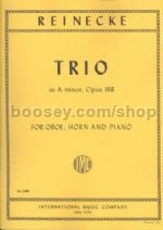 Trio in Amin Op. 188 for Oboe, Horn & Piano