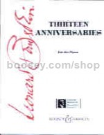 Thirteen Anniversaries - piano