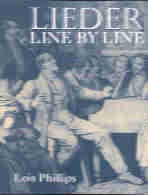 Lieder Line by Line (and Word for Word) Paperback