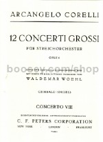 Concerto Grosso Op. 6/8 Christmas Concerto Cembalo Part