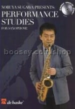 Performance Studies for Saxophone (Book & CD)