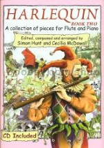 Harlequin Book 2 Flute/Piano (Book & CD)