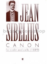 Canon for violin & cello (1889)