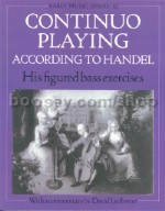 Continuo Playing according to Handel