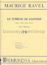 Le Tombeau de Couperin - piano 4-hands