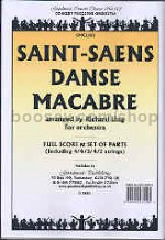 Danse Macabre for Orchestra (Score & Parts)