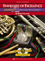 Standard Of Excellence: Enhanced Comprehensive Band Method Book 1 (Drums/Mallet Percussion)