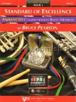 Standard of Excellence Enhanced 1 Clarinet (Book & CD-ROM)