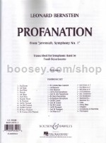 Profanation - wind band