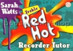 Red Hot Treble Recorder Tutor Book & CD Student