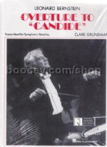 Candide Overture - wind band score & parts