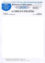 A Child's Prayer / The Old Shepherd's Prayer