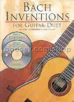 Inventions For Guitar Duet (Book & 2 CDs)