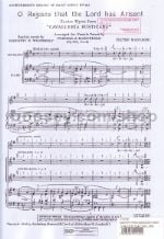 O Rejoice That The Lord Has Arisen (Easter Hymn from Cavalleria Rusticana) (SSAA)