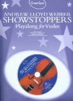 Guest Spot: Andrew Lloyd Webber Shows - Violin (Bk & CD) Guest Spot series