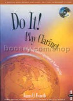 Do It Instrument Method Bass Clarinet Book & CD