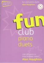 Fun Club Piano Duets Grade 1-2 (Book & CD)