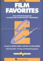 Essential Elements Folio: Film Favorites - Conductor's Score