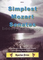 Simplest Mozart Sonatas for Piano selected by Goddard