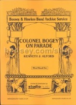 Colonel Bogey On Parade for wind band (score & parts)