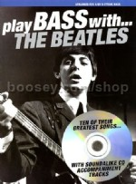 Play Bass With The Beatles Book & CD