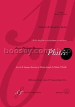 Platee French Vocal Score