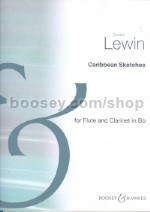 Caribbean Sketches for Flute & Clarinet
