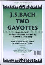 Two Gavottes (Orchestral Suite No3) Orch