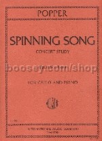 Spinning Song Op. 55/1 Cello & Piano