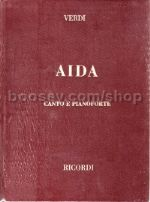 Aida - Vocal Score (Hardcover)