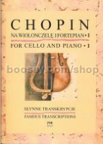 Famous Transcriptions for Cello and Piano, Book 1