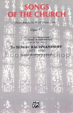 All-Night Vigil (Vespers) Op. 37 (vocal score) English Version Only