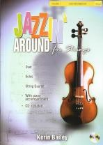 Jazzin' Around for Strings vol.1 (cello) Book & CD