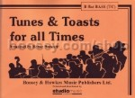 Tunes & Toasts For All Times Bb Bass Treble Clef