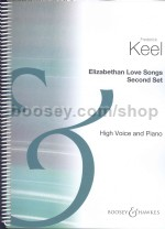 Elizabethan Love Songs vol.2 High Voice & Piano