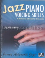 Jazz Piano Voicing Skills (Jamey Aebersold Jazz Play-along)