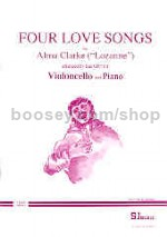 4 Love Songs  Cello & Piano