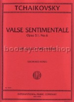 Valse Sentimentale Op. 51/6 (6 Pieces Op. 51) VLC/Piano
