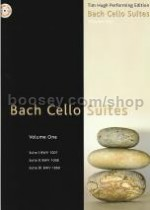 Cello Suites vol.1 (Tim Hugh Performing Edition) Book & CD