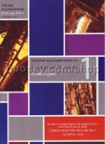 Compositions for Alto Saxophone vol.1 (selected piano accomps)
